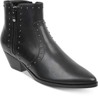 Marc Fisher Wanida Studded Western Booties Women's Shoes