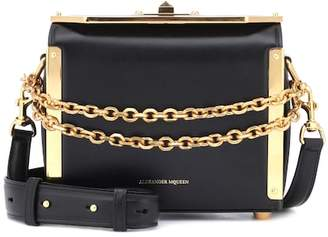 Alexander McQueen Box 19 leather shoulder bag