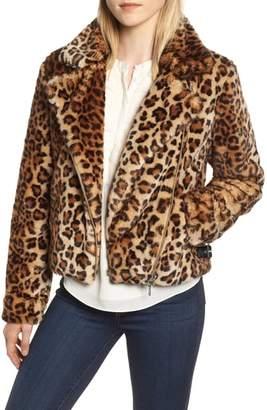 Rebecca Minkoff Faux Fur Moto Jacket
