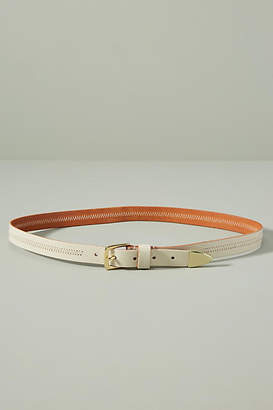 Anthropologie Well-Stitched Skinny Belt