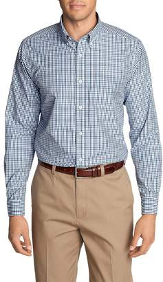 Eddie Bauer Men's Wrinkle-Free Pinpoint Oxford Classic Fit Long-Sleeve Shirt