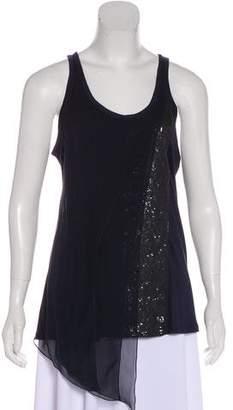 J. Mendel Embellished Silk Top w/ Tags