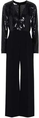 Stella McCartney Sequinned silk jumpsuit