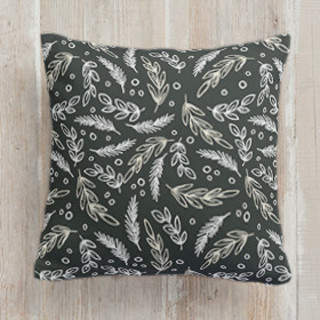 Chalkboard-1 Self-Launch Square Pillows