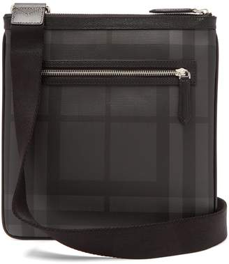 Burberry check cross-body bag