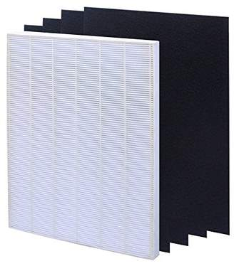True HEPA Plus 4 Carbon Replacement Filter A 115115 Size 21 for Winix PlasmaWave air purifier 5300 6300 5300-2 6300-2 P300 C535 by Isinlive
