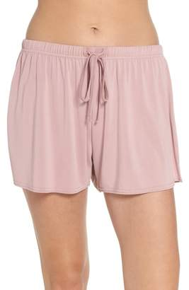Topshop Cupro Pajama Shorts