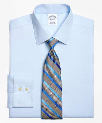 Brooks Brothers Regent Fitted Dress Shirt, Non-Iron Royal Oxford