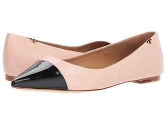 76c453b7fbefec Tory Burch Pointed Toe Flats - ShopStyle