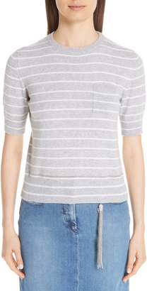 Fabiana Filippi Stripe Cashmere Sweater