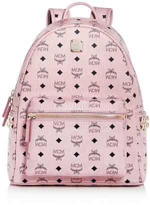 MCM Visetos Medium Stark Studded Backpack