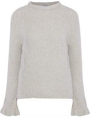 MiH Jeans Blake Ribbed Wool And Cashmere-Blend Sweater