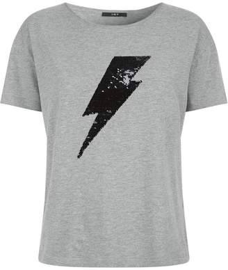 SET Sequin Bolt T-Shirt