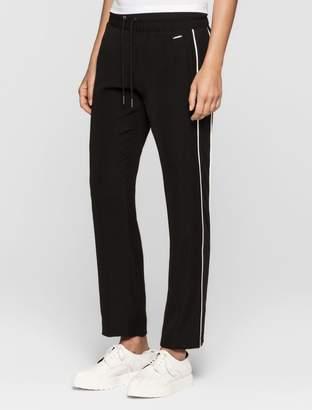 Calvin Klein satin twill sweatpants