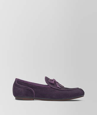 Bottega Veneta GRAPE SUEDE TRINITY LOAFER
