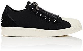 Y-3 Women's Super Zip Neoprene & Suede Sneakers $340 thestylecure.com