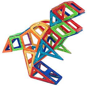 Magformers 55-Piece Dinosaur Set