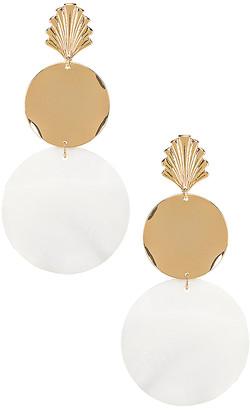 Ettika Seashell Drop Earrings