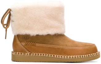 UGG shearling ankle boots