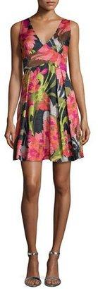 Trina Turk Floral-Print Party Dress $368 thestylecure.com