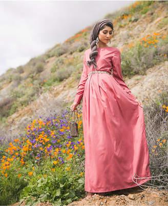 Verona Collection Pleated Maxi Dress