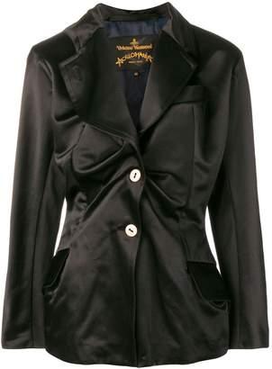 Vivienne Westwood asymmetric gathered blazer