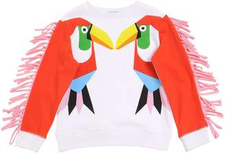 Stella McCartney Toucan Printed Cotton Sweatshirt