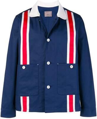 Biro stripe detail game jacket