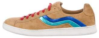 Marc Jacobs Suede Low-Top Sneakers