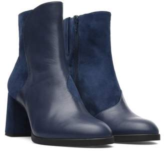 Camper Twins Leather & Suede Boot