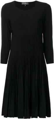 Salvatore Ferragamo pleated knit dress