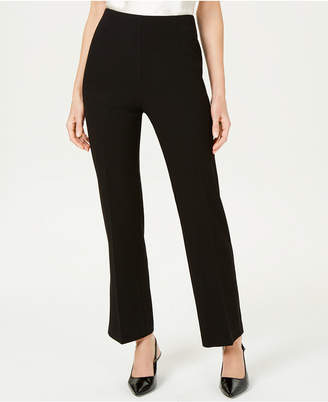 JM Collection Crepe Pull-On Pants