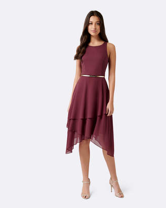 Forever New Lauren Two-In-One Tiered Maxi Dress