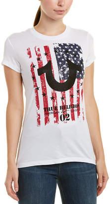 True Religion Flag Horseshoe T-Shirt