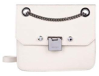 Jimmy Choo Leather Flap Crossbody Bag
