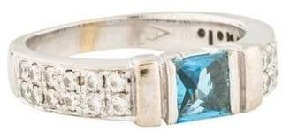 Di Modolo 18K Topaz & Diamond Ring