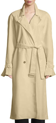 The Row Nueta Double-Breasted Belted Trench Coat