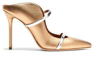 Malone Souliers By Roy Luwolt - Maureen Leather Mules - Womens - Gold