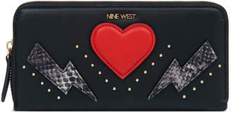 Nine West Zip Around Wallet