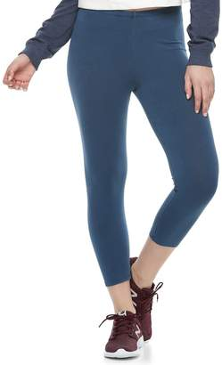 Juniors' SO Solid Capri Leggings