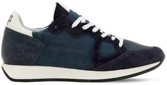 Philippe Model Monaco Leather Sneakers