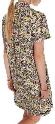 Scotch & Soda Tropical Print Shirtdress