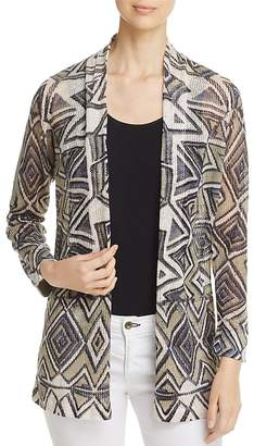 NIC and ZOE Mountain Dreams Waffle Knit Cardigan $158 thestylecure.com