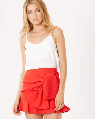 Ismay Tie-Front Skirt