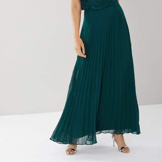 Coast Imi Pleated Maxi Skirt