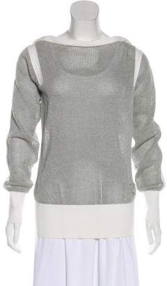 Chanel Mesh Knit Top