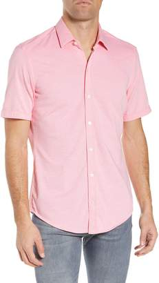 BOSS Robb Slim Fit Jersey Sport Shirt
