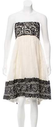 Marchesa Embellished Evening Dress w/ Tags