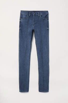 H&M Super Skinny Regular Jeans - Blue