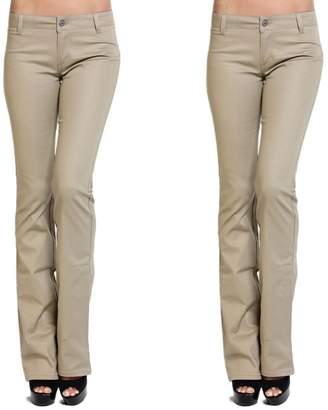 Dickies TheMogan Women's Girls Bootcut Twill Uniform Work Pants 3
